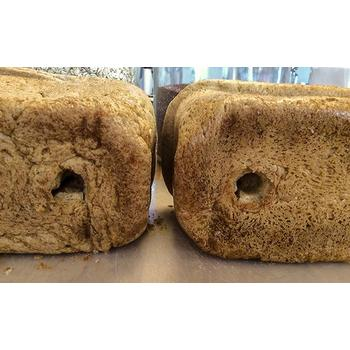 Bottom bread from Black and Decker Bread Maker