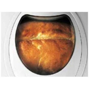 Large viewing window in Sunbeam highly rated bread machine
