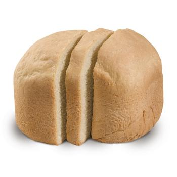 Plain white bread out of Hamilton Beach 29881 bread machine