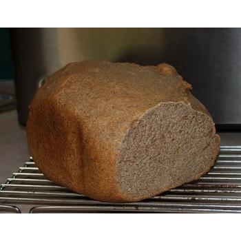 Wheat bread made with DeLonghi DBM450 Bread Maker