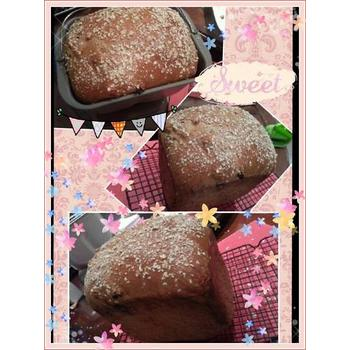 Whole wheat bread baked using Breville BBM800XL