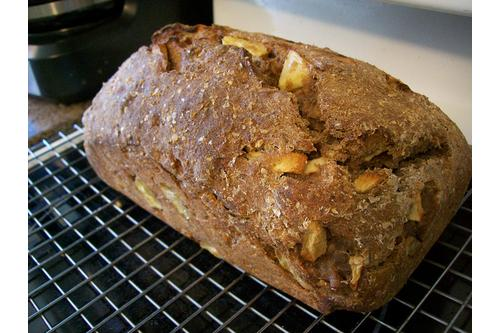 Healthy fruit bread recipe