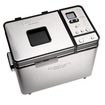Control panel view of Cuisinart CBK-200 2-Pound Convection Automatic Breadmaker
