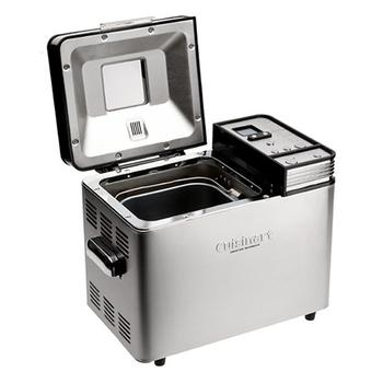 Top compartment view of Cuisinart CBK-200 2-Pound Convection Automatic Breadmaker